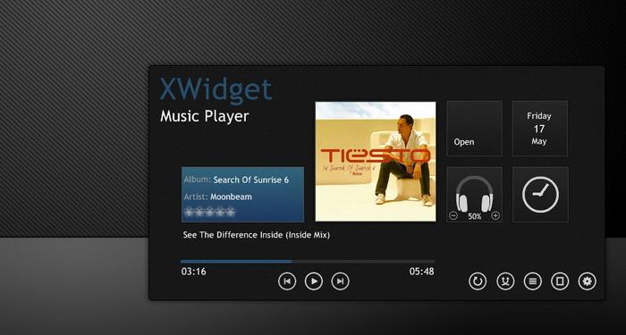 Elegant Music Player_X Widget Download Gallery  Widget,gadget